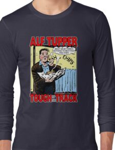 Alf Tupper Tough of the Track Comic Fish & Chips Long Sleeve T-Shirt