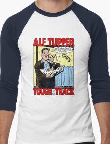Alf Tupper Tough of the Track Comic Fish & Chips Men's Baseball ¾ T-Shirt