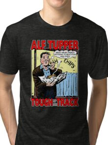 Alf Tupper Tough of the Track Comic Fish & Chips Tri-blend T-Shirt