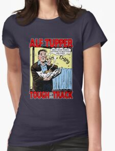 Alf Tupper Tough of the Track Comic Fish & Chips Womens Fitted T-Shirt
