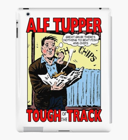 Alf Tupper Tough of the Track Comic Fish & Chips iPad Case/Skin