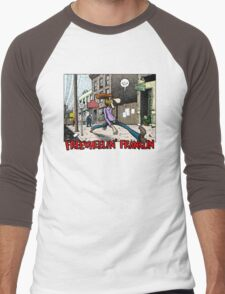 Fabulous Furry Freak Brothers Freewheelin Franklin Men's Baseball ¾ T-Shirt