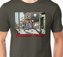Fabulous Furry Freak Brothers Freewheelin Franklin Unisex T-Shirt