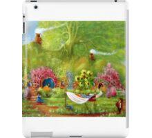 Washing Day Hobbiton/Roses For Rosie. iPad Case/Skin