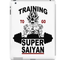Training Super Saiyan Gym iPad Case/Skin
