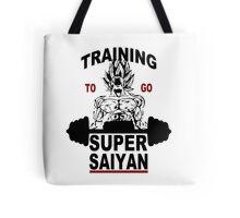 Training Super Saiyan Gym Tote Bag