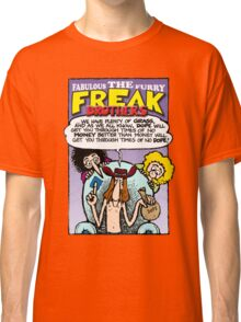 Fabulous Furry Freak Brothers Dope Quote Classic T-Shirt