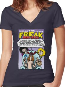 Fabulous Furry Freak Brothers Dope Quote Women's Fitted V-Neck T-Shirt