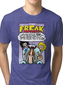 Fabulous Furry Freak Brothers Dope Quote Tri-blend T-Shirt