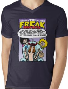 Fabulous Furry Freak Brothers Dope Quote Mens V-Neck T-Shirt