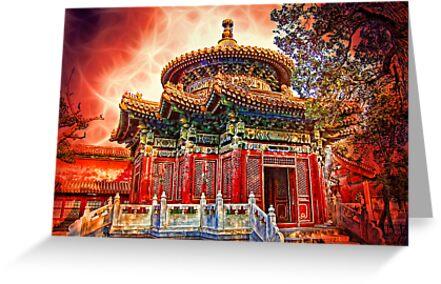 In the Garden of Forbidden City. Beijing. China. by vadim19