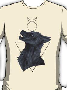 Elemental Earth Wolf  T-Shirt