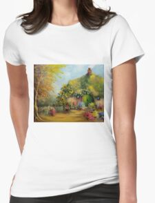 Flower Pots Hobbiton Womens Fitted T-Shirt