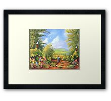 Hobbiton Disturber Of The Peace  Framed Print