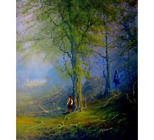 Frodo and The Wood Elves Photographic Print
