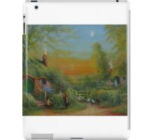 The Shire (Frodo and Sam Making Plans ) iPad Case/Skin