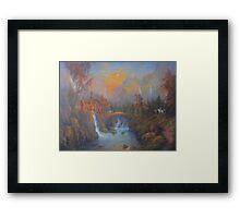 Farewell To Rivendell (The Passing Of The Elves ) Framed Print