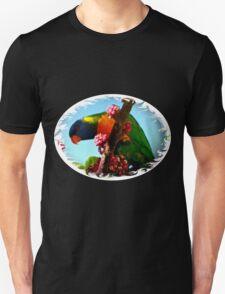 Long sleeve Shirt  (Lorikeet rainbow) T-Shirt