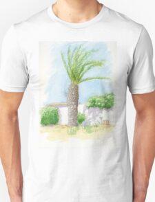 Portugal villa with tree T-Shirt