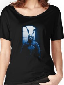 Frank the Donnie Darko rabbit costume Women's Relaxed Fit T-Shirt