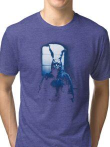 Frank the Donnie Darko rabbit costume Tri-blend T-Shirt