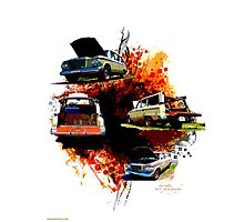 Wagon-Aire Photographic Print