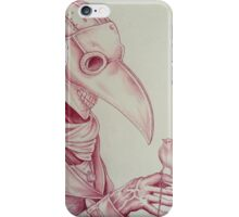 Steampunk plague doctor  iPhone Case/Skin