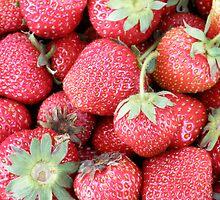 Strawberries! by AuntieJ