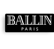 Ballin' Paris Canvas Print