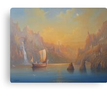 The Journey To The  Undying Lands Canvas Print