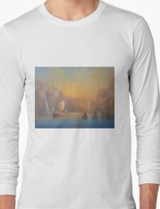 The Journey To The  Undying Lands Long Sleeve T-Shirt
