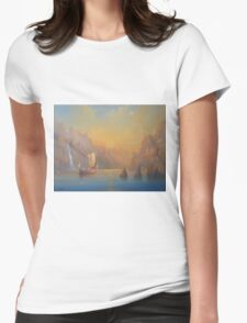 The Journey To The  Undying Lands Womens Fitted T-Shirt