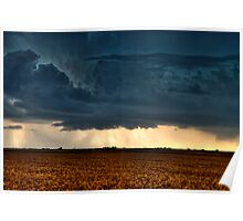 Bell Shaped Wall Cloud Poster
