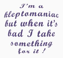 Kleptomaniac     by RebeccaWeston