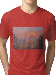 Mordor.Land Of Shadow Tri-blend T-Shirt