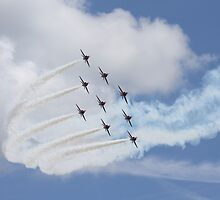 Red Arrows by PhilEAF92