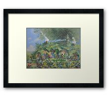 In Search Of A Burglar! Framed Print