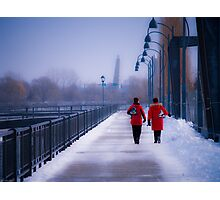 Going For A Skate - Montreal, Quebec Canada Photographic Print