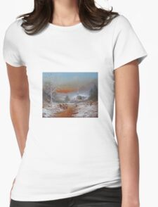 Snowballs In The Shire Womens Fitted T-Shirt