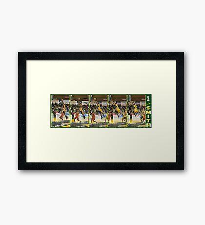Kevin Smith - DUNK!!! Framed Print
