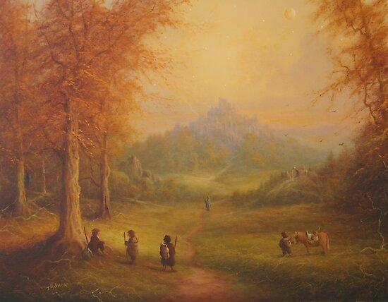 Weathered Hill by Joe Gilronan