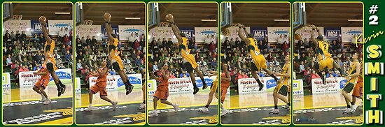 Kevin Smith - Another DUNK!! by Gavin  Male