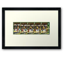 Kevin Smith - Another DUNK!! Framed Print