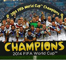 Germany 2014 World Cup Champion by Enriic7