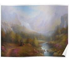 The Misty Mountains Poster