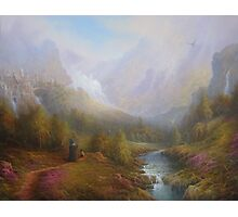 The Misty Mountains Photographic Print