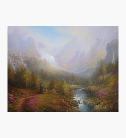 The Mountains Of Mist. Photographic Print