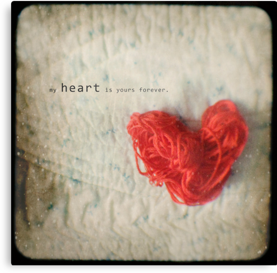 My Heart is Yours Forever by sandra arduini