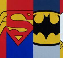 Justice Logo's Sticker