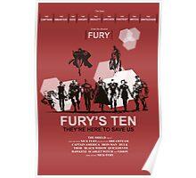 Fury's Ten Poster